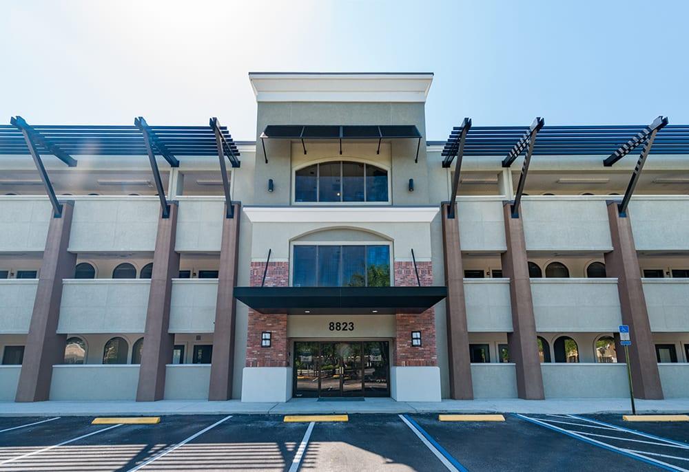 %Jacksonville %Commercial Real Estate